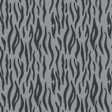 Abstracte dierlijke druk Naadloos vectorpatroon met tijgerstreep stock illustratie