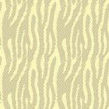 Abstracte dierlijke druk Naadloos vectorpatroon met zebra/tijger Stock Afbeelding