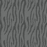 Abstracte dierlijke druk Naadloos vectorpatroon met zebra/tijger vector illustratie