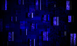 Abstracte digitale achtergrond Royalty-vrije Stock Afbeeldingen