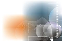 Abstracte Digitale Achtergrond Stock Foto