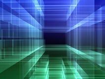 Abstracte digitale achtergrond vector illustratie