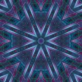 Abstracte digitale de symmetrie van het mozaïekdecor textuur als achtergrond, de magische manier van saldomandala, verf vector illustratie