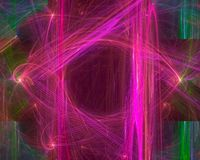 Abstracte digitale fractal, fantasieontwerp geeft, motie, werveling terug vector illustratie