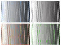 Abstracte digitale presentatie Stock Fotografie