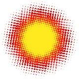 Abstracte digitale vlek halftone flits plus EPS10 vector illustratie