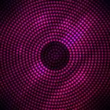 Abstracte discoachtergrond met halftone. royalty-vrije illustratie
