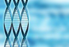 Abstracte DNA Royalty-vrije Stock Afbeeldingen