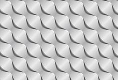 Abstracte document golven 3d naadloze achtergrond Stock Afbeelding