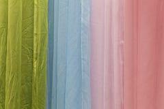 abstracte doek of vloeibare golf van het materiaal van de zijdetextuur Royalty-vrije Stock Foto's