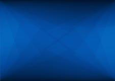 Abstracte donkerblauwe achtergrond met een patroon van het Snijden van driehoeken stock fotografie