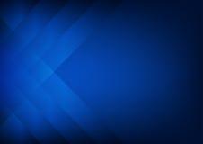 Abstracte donkerblauwe achtergrond met stroken royalty-vrije stock foto