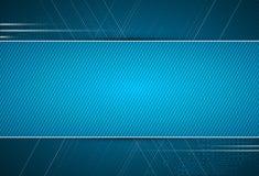 Abstracte donkerblauwe van de bedrijfs digitale computertechnologie backgrou Royalty-vrije Stock Afbeeldingen