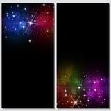 Abstracte Donkere Discoachtergronden Royalty-vrije Stock Afbeeldingen