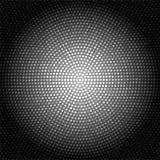 Abstracte Donkere Glanzende Metaalachtergrond met Helder Dots Pattern royalty-vrije illustratie
