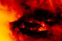 Abstracte donkere grungeachtergrond Royalty-vrije Stock Afbeeldingen