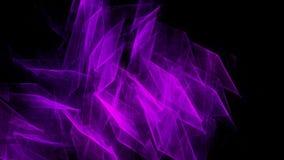 Abstracte donkere purpere achtergrond met vlot licht Royalty-vrije Stock Foto