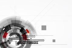 Abstracte donkere van de bedrijfs digitale computertechnologie achtergrond Stock Afbeelding