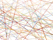 Abstracte draden Stock Fotografie