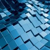 Abstracte driedimensionele achtergrond Royalty-vrije Stock Afbeeldingen