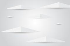 Abstracte driehoek Royalty-vrije Stock Afbeelding