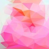 Abstracte driehoek als achtergrond Royalty-vrije Stock Fotografie