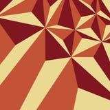 Abstracte driehoek als achtergrond stock illustratie