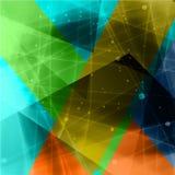 Abstracte driehoek background1 Stock Foto's