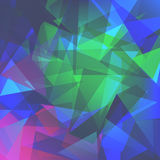 Abstracte driehoekenachtergrond voor gebruik in uw ontwerp vector illustratie