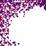 Abstracte driehoekige achtergrond Royalty-vrije Stock Afbeeldingen