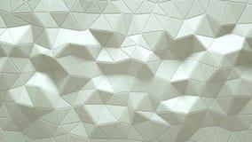 Abstracte driehoekige kristallijne animatie als achtergrond 4K stock video