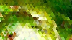 Abstracte Driehoeks Geometrische Achtergrond: Kikker Royalty-vrije Stock Foto's