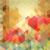 Abstracte Driehoeks Geometrische Multicolored Achtergrond, Vectorillustratie EPS10 royalty-vrije illustratie
