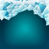 Abstracte driehoeks vectorachtergrond Royalty-vrije Stock Afbeeldingen