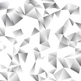 Abstracte driehoeks vectorachtergrond Royalty-vrije Stock Foto's