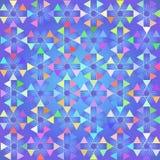 Abstracte driehoeksachtergrond. Vector Illustratie