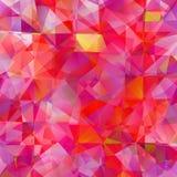 Abstracte driehoeksachtergrond Royalty-vrije Stock Fotografie