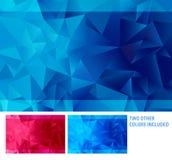 Abstracte driehoeksachtergrond Royalty-vrije Stock Afbeeldingen