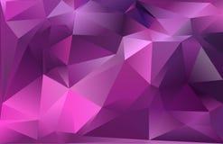Abstracte driehoeksachtergrond Royalty-vrije Stock Afbeelding