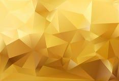 Abstracte driehoeksachtergrond Stock Fotografie