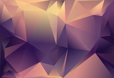 Abstracte driehoeksachtergrond Royalty-vrije Stock Foto