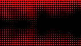 Abstracte duotoneachtergrond Hypnose rood halftone psychedelisch art. Ontwerppatroon royalty-vrije illustratie