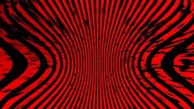 Abstracte duotoneachtergrond Hypnose rood halftone psychedelisch art. Ontwerppatroon stock illustratie