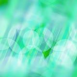 Abstracte dynamische achtergrond, Groen en blauw Royalty-vrije Stock Afbeeldingen