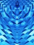 Abstracte dynamische blokachtergrond Royalty-vrije Stock Afbeelding