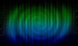 Abstracte dynamische groene achtergrond Groene werveling Cirkelgolf stock illustratie