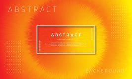Abstracte, dynamische, moderne oranje achtergrond voor uw ontwerpelementen en anderen vector illustratie