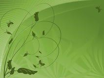 Abstracte ecologische achtergrond stock illustratie