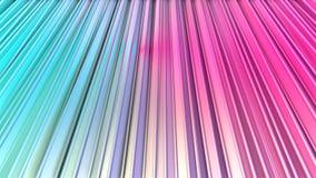 Abstracte eenvoudige blauwe roze lage poly 3D gordijnen als meetkundeachtergrond Zachte lage poly zuivere motieachtergrond van he stock illustratie