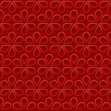 Abstracte eenvoudige bloemenachtergrond Royalty-vrije Stock Foto's